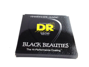 DR Guitar Strings Electric K3 Black Beauties High Performance Coated 10-52