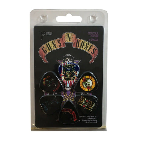 Guns N Roses Guitar Picks 6 Picks Albums Set 2.