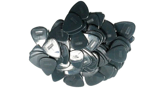 Snarling Dog Guitar Picks Brain Picks 72 Picks 1.0mm Grey