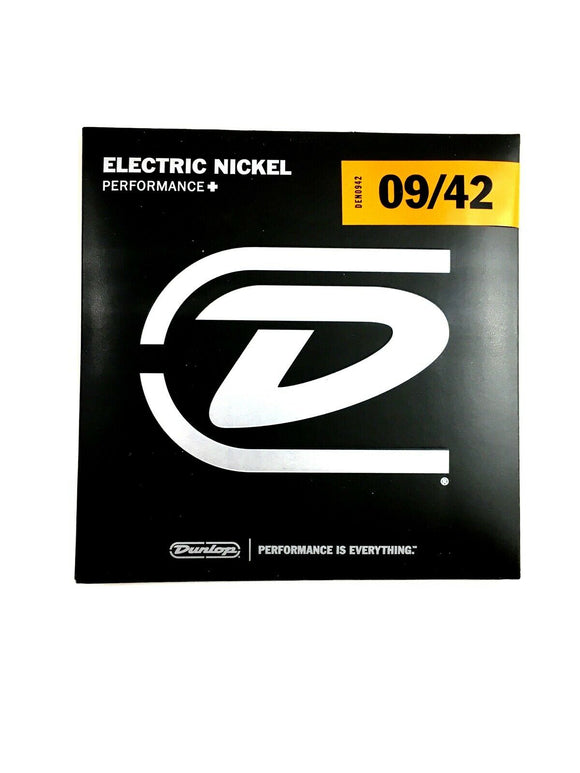 Dunlop Guitar Strings Electric Nickel Wound Light 09-42