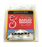 "Grover Banjo Bridge - 5 String Minstrel Bridge Acousticraft 1/2""."