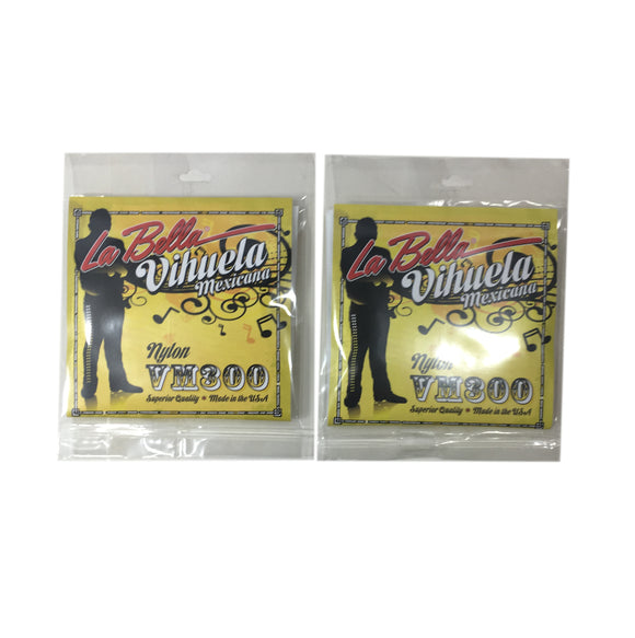 La Bella Vihuela Guitar Strings 2-Pack VM300.