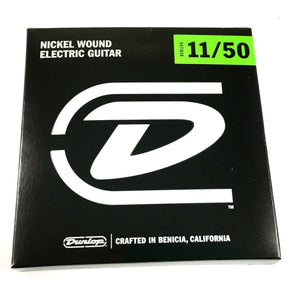 Dunlop Guitar Strings - Electric - 11-50 - Nickel Plated Steel.