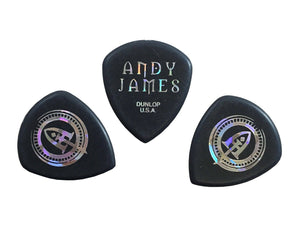 Dunlop Guitar Picks Flow Andy James Signature Picks 3 pack 546PAJ2.0 2.0mm.