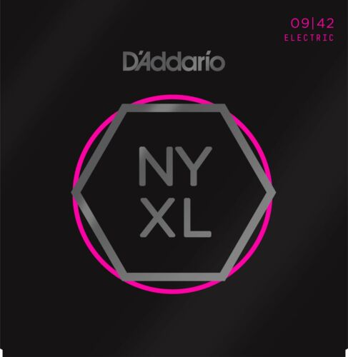 D'Addario Guitar Strings  NYXL 0942  Electric  Light Gauge 09-42.