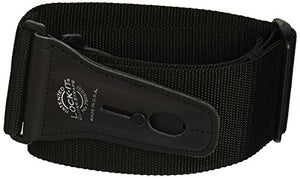 LOCK-IT Guitar Strap | Black | 3"