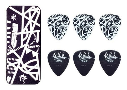 Eddie Van Halen Guitar Picks EVH Starbody Max Grip Pick Tin Collectible