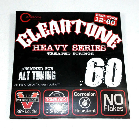 Cleartone Guitar Strings Electric Monster Heavy Alt Drop Tuning 12-60 Long Life