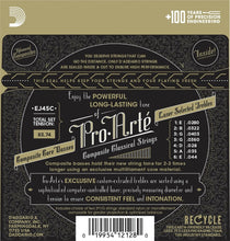Load image into Gallery viewer, D'Addario Guitar Strings  Classical  3 Pack  EJ45C Pro-Arte Composites Normal