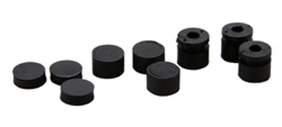Dunlop ECB124 Grommets Offset-3 Large 3 Small Rubber Bumpers for Wah Volume.