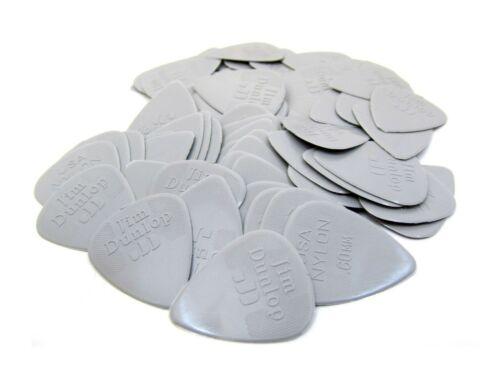 Dunlop Guitar Picks  72 pack  Nylon .60MM  44R.60