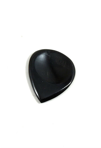 John Pearse Guitar Picks Buffalo Horn Dimpled Pick.