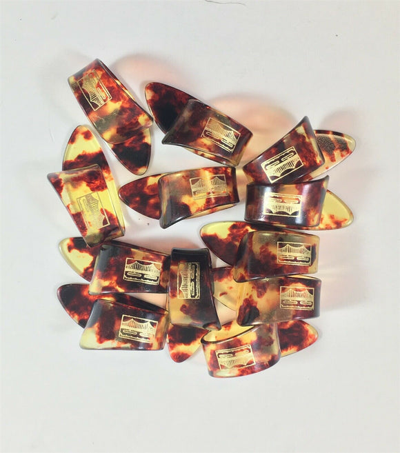 Golden Gate Thumb Picks 12 Pack Shell Guitar or Banjo Large.