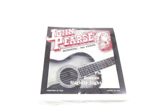 John Pearse Guitar Strings  Acoustic Slightly Light Gauge #550SL Phos Bronze.
