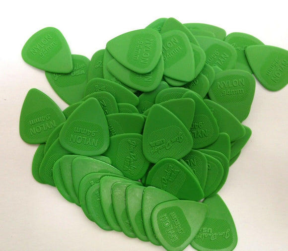 Dunlop Guitar Picks  Nylon MIDI  72 Pack  .94mm  Green.
