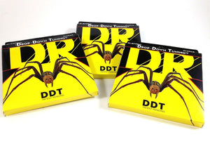 DR Guitar Strings 3 Pack Electric DDT Drop Down Tuning 13-65 Mega Heavy.