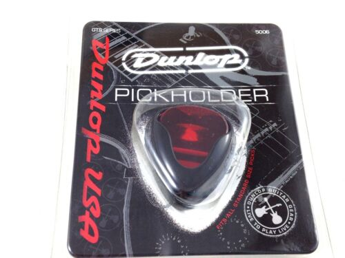 Dunlop Guitar Pick Holder Ergonomic  Attaches to Strap or Guitar.