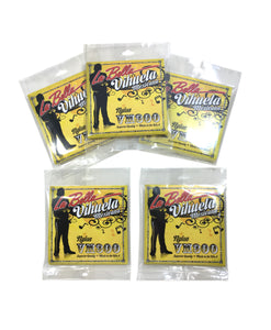 La Bella Vihuela guitar Strings 5 Pack  VM300.