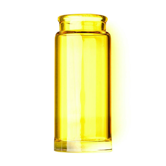 Dunlop Guitar Slide Blues Bottle Yellow Medium Medicine Bottle.