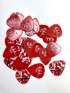 Eddie Van Halen Guitar Picks EVH Frankenstein Max Grip .60mm 24-Picks.