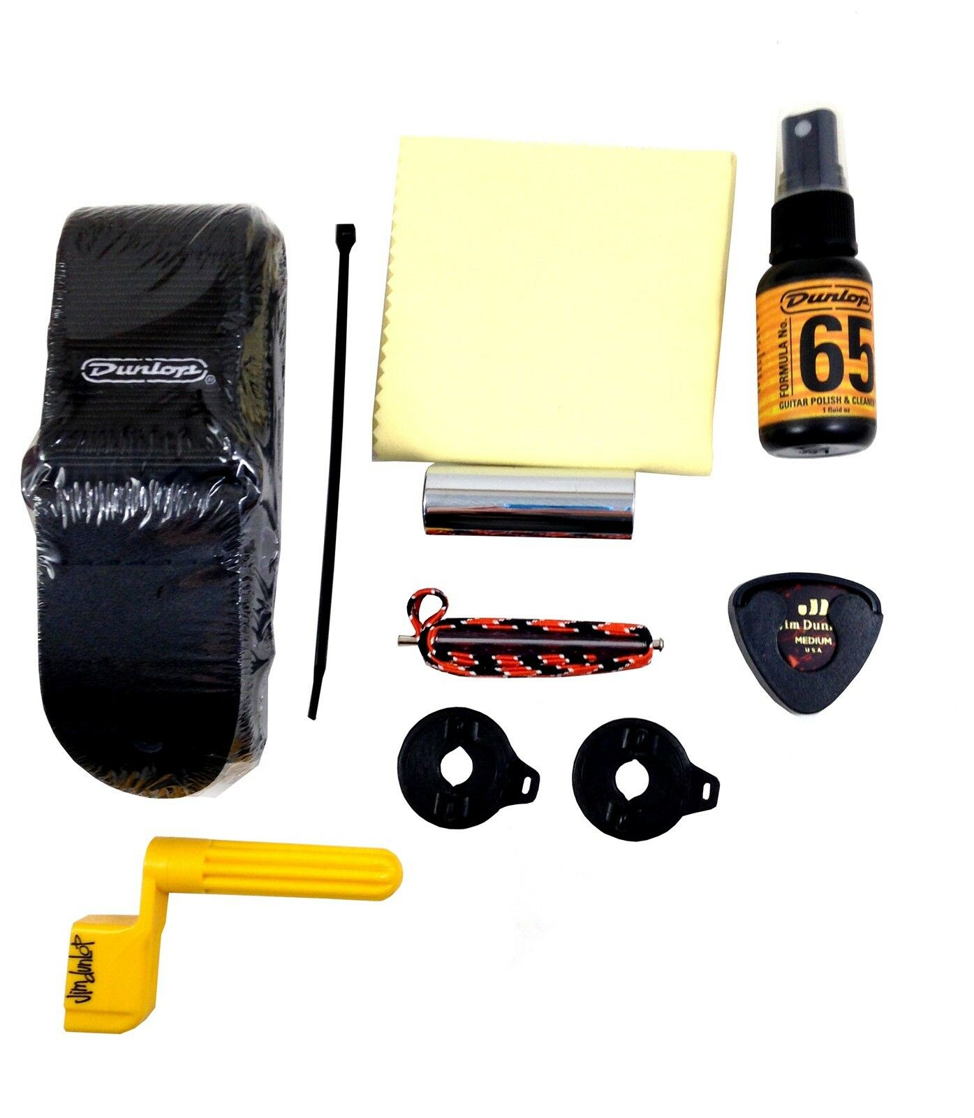Dunlop Electric Guitar Accessory Pack Picks, Winder, Strap locks, More Gift Pack.