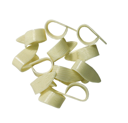 Golden Gate Thumb Picks  12 Pack  Ivoroid  Guitar or Banjo  Medium.