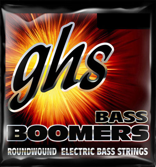 GHS Bass Guitar Strings  Boomers 45-105 Bead Tuning Medium Long Scale Plus