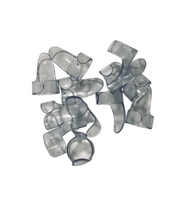 Dunlop Finger Picks  12 Pack  Clear  Medium  Guitar and Banjo 9032R.