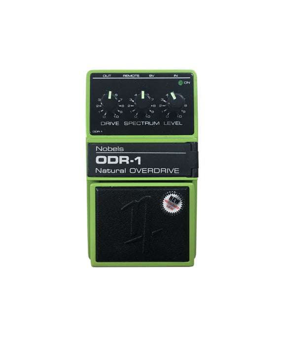 Nobels Overdrive Guitar Effect Pedal ODR-1 BC Green New Bass Cut Switch.