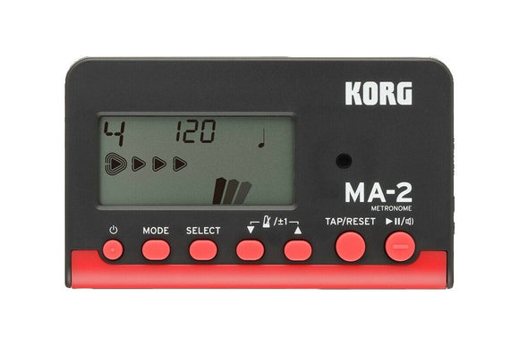 Korg Metronome MA-2 Black and Red MA2RD