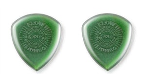 Dunlop Guitar Picks JUMBO FLOW Standard 2 Pack Primetone 4.2mm
