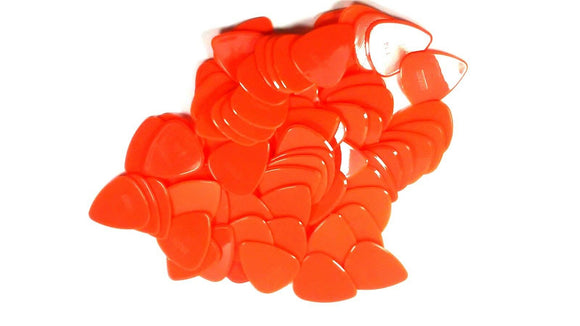 Snarling Dog Guitar Picks Brain Picks 72 Picks 1.14mm Orange