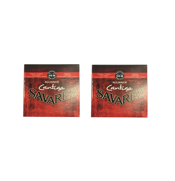 Savarez Guitar Strings 2-Packs Nylon Alliance Cantiga Normal Tension 510AR