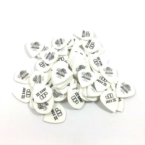 Dunlop Guitar Picks 72 Pack Tortex White Jazz III 1.35mm 478R1.35
