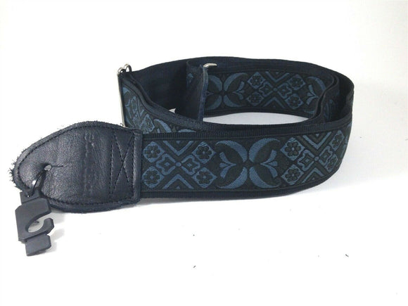Souldier Guitar Strap (soldier) - Madrid Pewter - Handmade - Fabric.