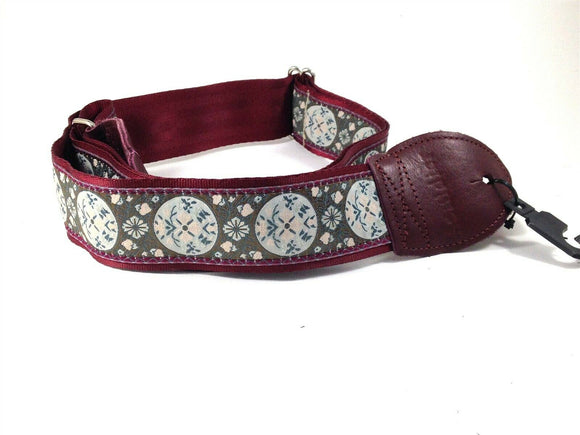 Souldier Guitar Strap (soldier) - Medallion - Handmade - Fabric.