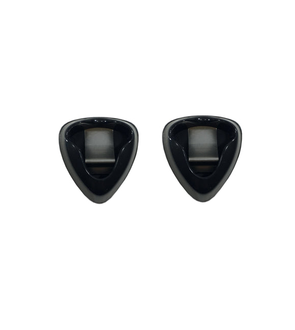 Dunlop Guitar Pick Holder 2-Pack Ergonomic  Attaches to Strap or Guitar 5006J-2