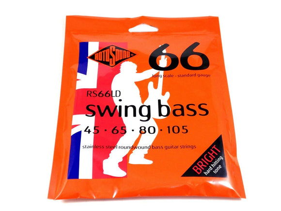 RotoSound Bass Guitar String swing bass RS66LD Long Scale 45-105