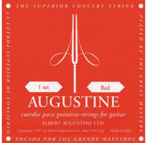 Augustine Guitar Strings Classsical Classic Red Medium Tension 524A