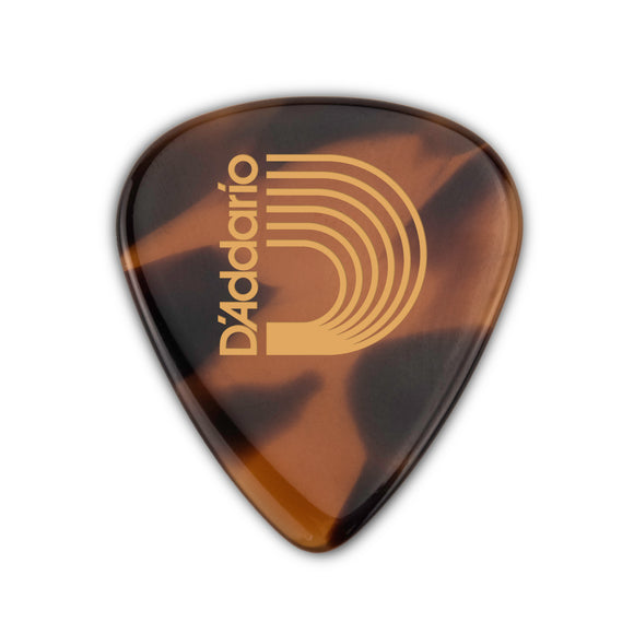 D'Addario Guitar Pick - Casein - 351 Shape Shell 2.0mm - Single Pick