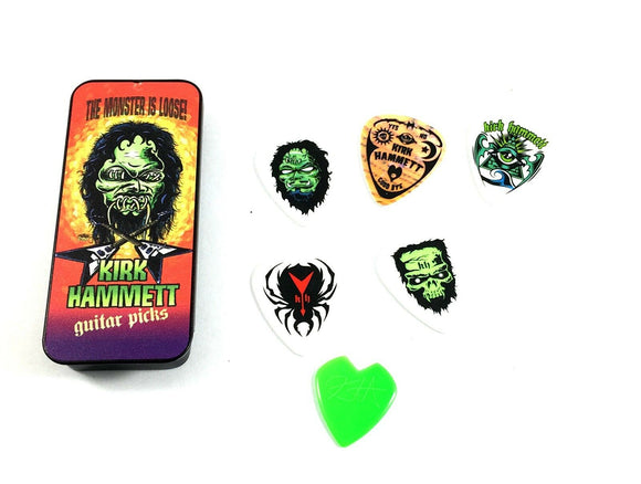 Dunlop Kirk Hammett (Metallica) Monster Pick Tin 6 Picks