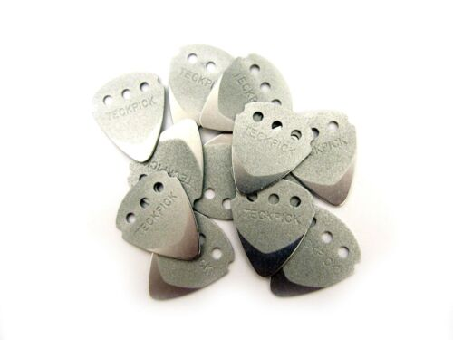 Dunlop Guitar Picks  Techpick (Tech Pick) Aluminum Metal  12 Pack.