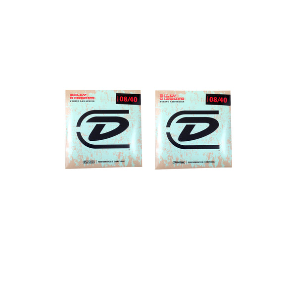 Reverend Billy Gibson Rev Wily 2-Pack Brand Guitar Strings  Electric  08-40