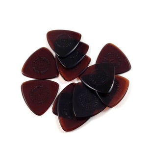 Dunlop Guitar Picks  12 Pack  Primetone Small Tri Hand Sculpted Grip  1.3mm