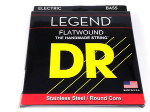 DR Bass Strings Flat Wound Stainless Steel 45-105