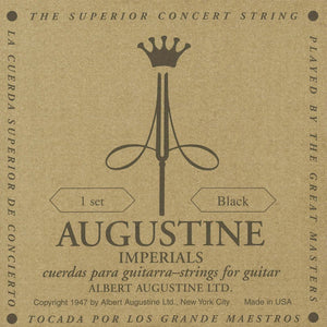 Augustine Guitar Strings Classical Imperial Black High Low Tension 526A
