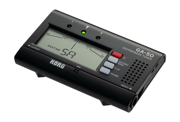 Tuner KORG GA-50 Guitar and Bass Tuning Quinta Flat Tuning Drop Tuning Tuner