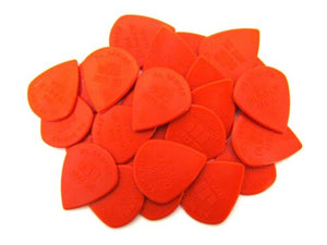 Dunlop Guitar Picks  Jazz 3   Red Nylon  XL (larger size)  24 Pack  47RXLN.