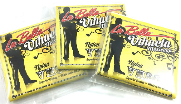La Bella Vihuela guitar Strings VM300  3 - Packs.
