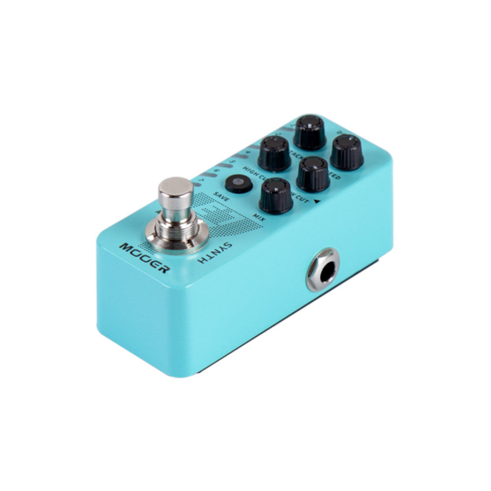 Mooer Micro Guitar Synch E7 Synth Engine 7 Types Polyphonic